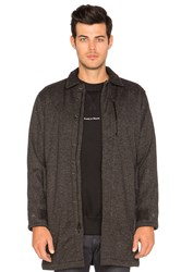 Raised By Wolves Elgin Mac Jacket Charcoal