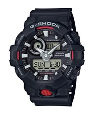 G Shock Black And Red Resin Strap Watch
