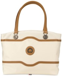 Delsey Chatelet Plus Ladies' Tote Champagne