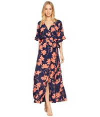 Lucy Love Enchanted Wrap Dress Desination Sunshine Multi