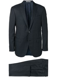 Corneliani Two Piece Formal Suit Blue