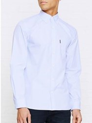 Aquascutum London Eshton Long Sleeve Shirt Blue