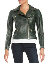 Vince Camuto Asymmertic Leather Jacket