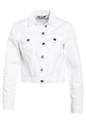 Dorothy Perkins Denim Jacket White White Denim