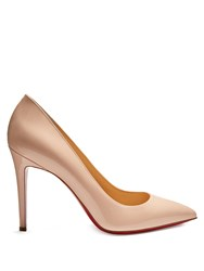 Christian Louboutin Pigalle 100Mm Patent Leather Pumps Light Pink