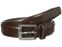 Stacy Adams 32Mm Full Grain Leather Top W All Leather Lining Perforated Tip Brown Men's Belts