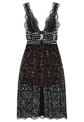 For Love And Lemons Mon Cheri Cocktail Dress Party Dress Noir Black