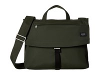Jack Spade Tech Travel Nylon Folded Messenger Olive