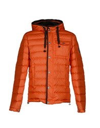 Kejo Coats And Jackets Down Jackets Men Orange
