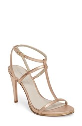 Kenneth Cole New York Bellamy Sandal Rose Gold Metallic Leather