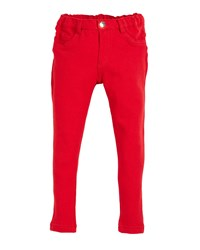 Mayoral Basic Fleece Pants Size 12 36 Months Red