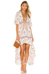 Spell And The Gypsy Collective Maisie Bambi Gown Pink