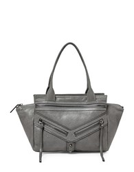 Botkier Trigger Small Leather Satchel Smoke