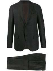 Dell'oglio Two Piece Formal Suit Grey
