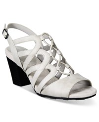 Easy Street Shoes Admire Sandals Women's Cloud Grey