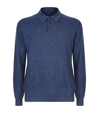 Harrods Polo Shirt Sweater Navy
