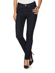 Rafaella Weekend Denim Skinny Leg Jeans Dark Indigo