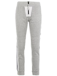 Andrea Bogosian Panelled Sweatpants Grey