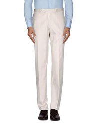 Luigi Bianchi Mantova Trousers Casual Trousers Men Ivory