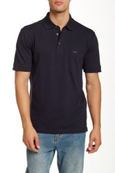 Faconnable Pique Polo Shirt Blue