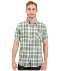 Kuhl Tropik S S Shirt Skuba Lime Men's Short Sleeve Button Up Green