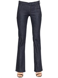 Seafarer Francis Pinstripe Stretch Cotton Denim