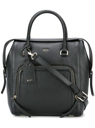 Dkny Zip Pocket Tote Black