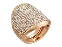 Vince Camuto Adjustable Pave Shield Ring Rose Gold Crystal Ring