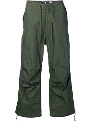 Levi's Made And Crafted Wide Leg Cargo Trousers Green