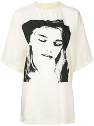 Alyx Face Print T Shirt Nude And Neutrals