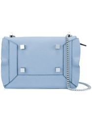 Manurina Studded Shoulder Bag Blue