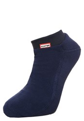 Hunter Socks Navy Dark Blue