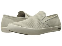 Seavees 02 64 Baja Slip On Biltmore Pumice Perforated Suede Hemp Men's Shoes Beige