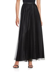 Alex Evenings Tulle A Line Skirt Black