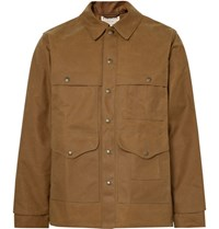 Filson Cruiser Water Repellent Tin Cloth Jacket Tan
