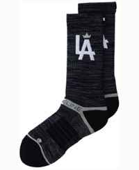 Strideline Los Angeles City Socks Ii Charcoal