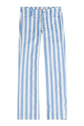 Seafarer Lord Jim Cropped Jeans Stripes