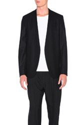 Maison Martin Margiela Maison Margiela Heavy Flannel Jacket In Black