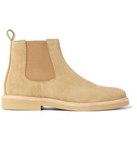 A.P.C. Grant Suede Chelsea Boots Beige
