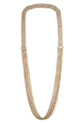 Lanvin Women's Mesh Chain Necklace