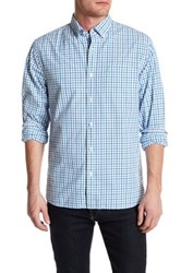 Bonobos Blue Windowpane Tattersall Standard Fit Shirt