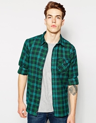 Bench Flannel Shirt Green