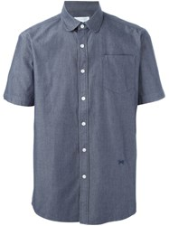 Soulland 'Edb Thomas' Shirt Blue