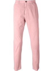 Dolce And Gabbana Classic Chinos Pink And Purple