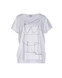 Hoss Intropia Topwear T Shirts Women White