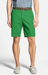 Men's Big And Tall Bobby Jones Stretch Cotton Flat Front Shorts Kelly Green