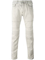 Neil Barrett Detailed Jeans Grey