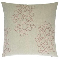 K Studio Pebbles Embroidered Pillow