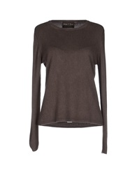 Della Ciana Sweaters Dark Brown