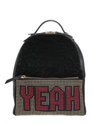 Les Petits Joueurs Mick Yeah Studded Leather Backpack